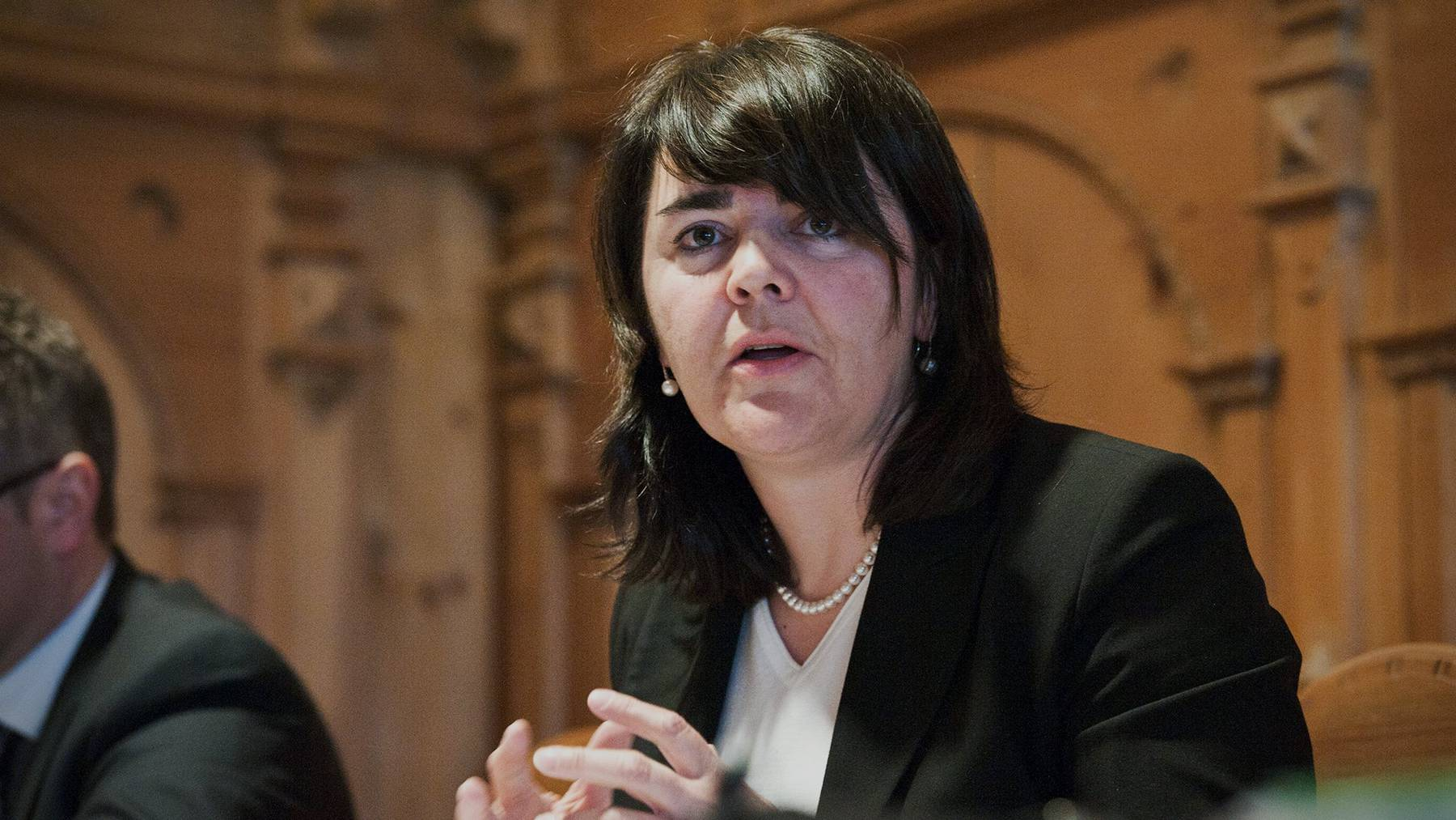 Sie ist die offizielle Kandidatin der Innerrhoder CVP: Antonia Fässler
