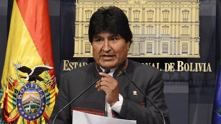 Boliviens Präsident Evo Morals will die Beziehungen zum Nachbarland Chile nach jahrzentelangem Streit normalisieren.