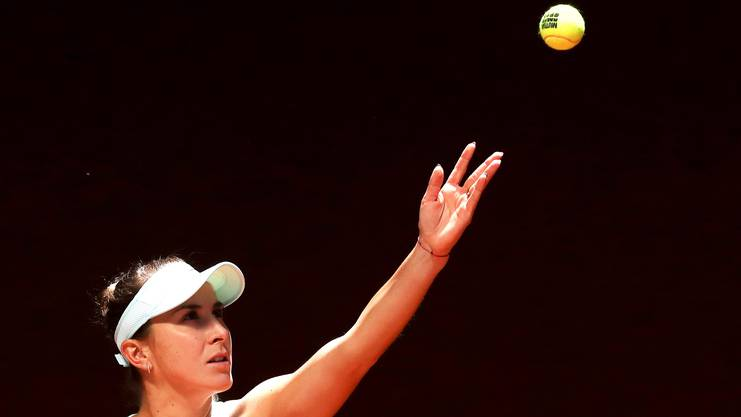 Nach den Erfolgen in diesem Jahr gilt Belinda Bencic selbst bei den French Open als Mitfavoritin.