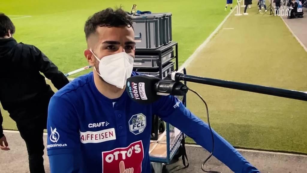 Varol Tasar erlöst den FC Luzern in der 90. Minute