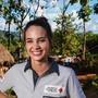 Für einen guten Zweck im Einsatz: Die Ärztin und Miss Schweiz 2014, Laetitia Guarino, wird offizielle Botschafterin des Schweizerischen Roten Kreuzes. (Pressefoto)
