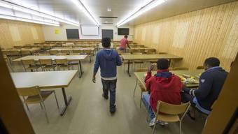 Im Aargau sollen Asylbewerber künftig in Grossunterkünften mit bis zu 150 Plätzen untergebracht werden.