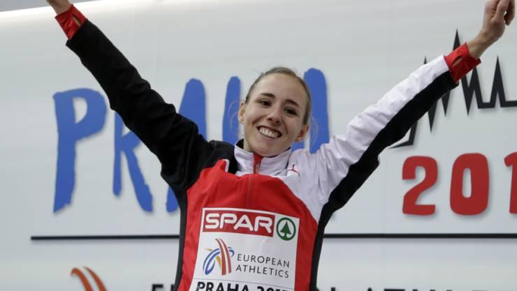Selina Büchel kann sich einmal mehr über einen Sieg freuen