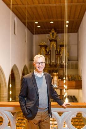 Pfarrer Christoph Weber-Berg ist Kirchenratspräsident der Aargauer Kantonalkirche (oberster Reformierter) und hält am 24. Dezember die Predigt in der Aarauer Stadtkirche, die das SRF live überträgt (Evangelisch-reformierte Christnacht).
