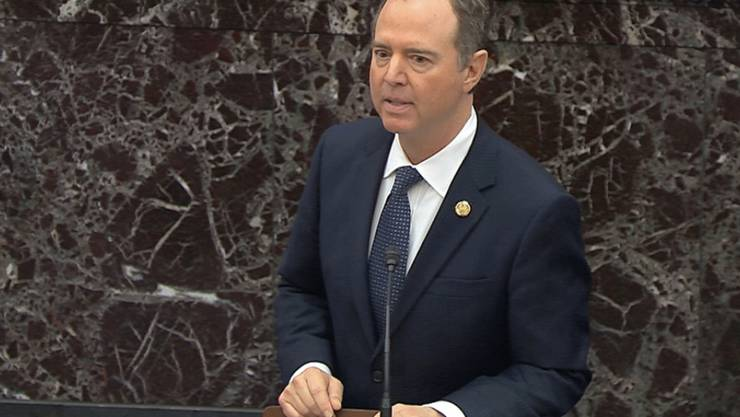 Im Amtsenthebungsverfahren gegen US-Präsident Donald Trump hat der demokratische Anklageführer Adam Schiff umfassende Beweise angekündigt, um die Vorwürfe gegen Trump zu untermauern.