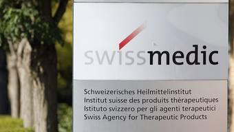 Das Heilmittelinstitut Swissmedic. Symbolbild.