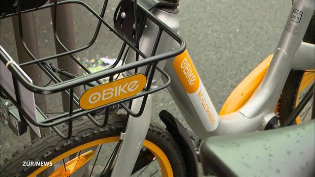 O-Bike zieht sich aus Zürich zurück