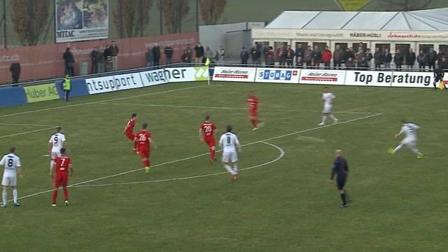 Heimspiel des FC Wohlen gegen den FC Biel