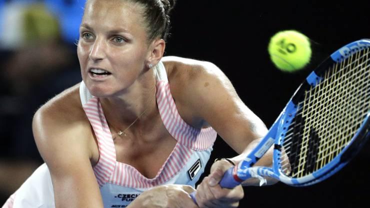 Verlor gegen Simona Halep: Tschechiens Teamleaderin Karolina Pliskova