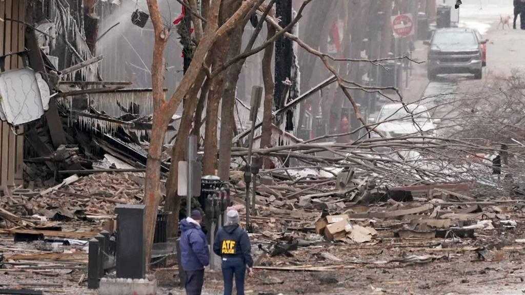 Anschlag in Nashville: Wohnmobil explodiert nach Countdown
