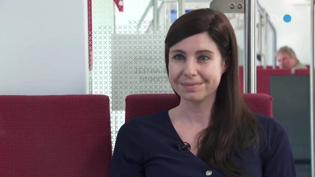 Im Zug mit... Simona Specker