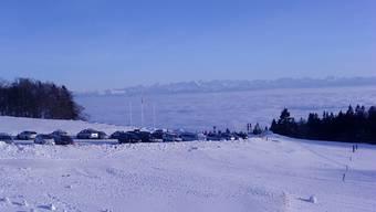 Doris Loegel schwärmt vom Untergrenchenberg – auch im Winter.