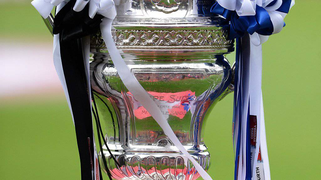 Wird im Mai 2017 das Objekt der Begierde sein: der Pokal des Schweizer Cups