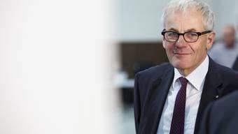 Kurt Fluri am Wahlsonntag in der Reithalle.