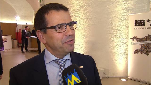 """FDP-Präsident Matthias Jauslin: """"Wir haben mit einem Kopf-an-Kopf-Rennen gerechnet"""""""