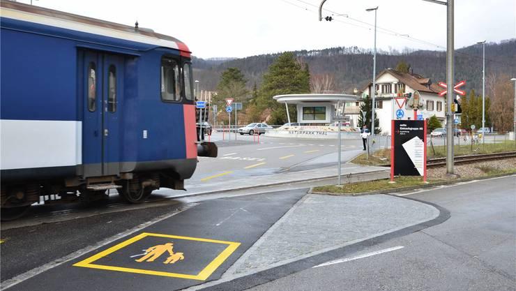 Der Bahnübergang Thalbrücke rückt einmal mehr in den Fokus der Öffentlichkeit. bruno Kissling