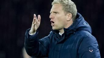 Thuns Cheftrainer Marc Schneider trieb seine Leute zum Sieg nach der Niederlage
