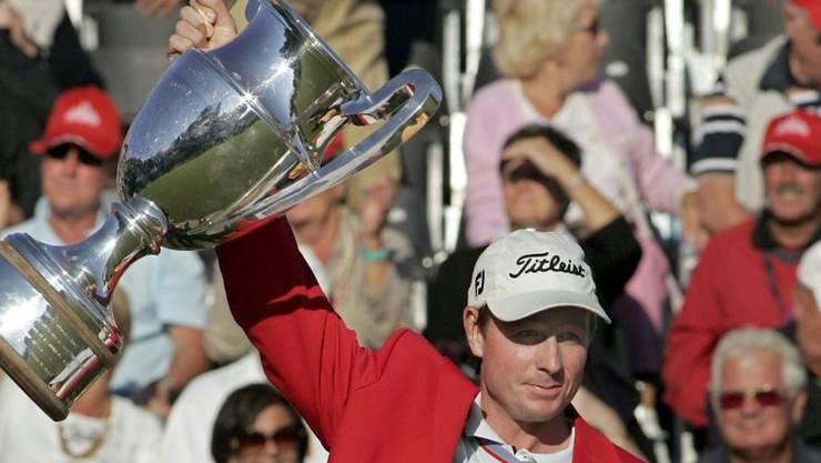 Brett Rumfords grösster Moment: Sieger am Omega European Masters 2007 in Crans-Montana