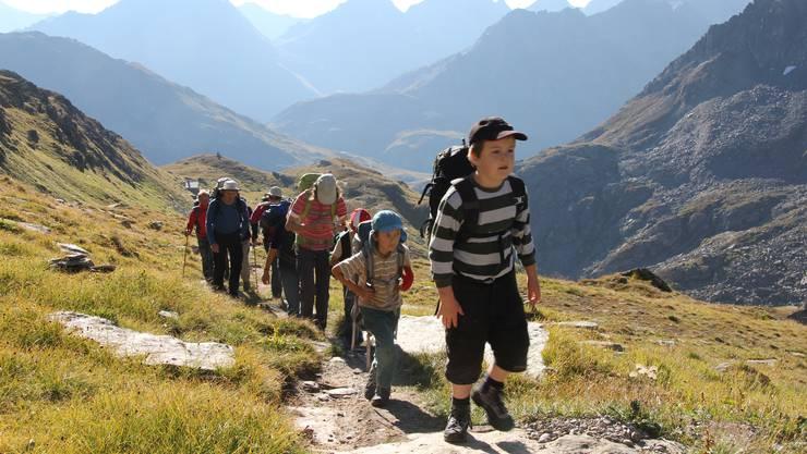 Der SAC Homberg bietet Touren in den verschiedensten Sparten an für Junge, Junggebliebene und Ältere.