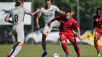 Olivier Jäckle und Raoul Giger zeigen eine ungenügende Leistung gegen Winterthur.