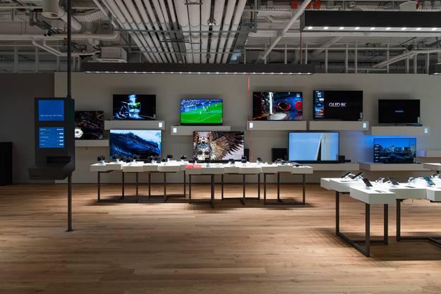 Es ist der 11.Shop in der Schweiz und der erste in einem Einkaufszentrum der Migros.