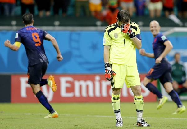 Blamage für Spanien-Keeper Iker Casillas