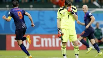 Spanien gegen Holland