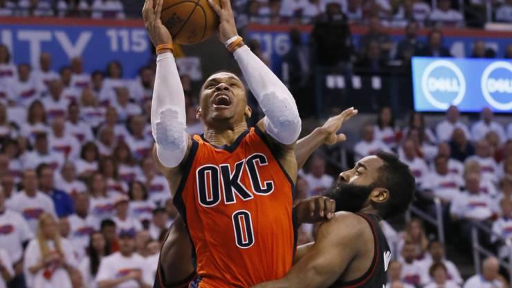 Russell Westbrook ist der MVP der NBA-Saison 2016/2017