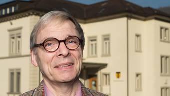 Der abtretende Ennetbadener Gemeinderat Fritz W. Gläser: «Ich bin parteilos. Das bedeutet aber nicht, dass ich meinungslos wäre. alex spichale