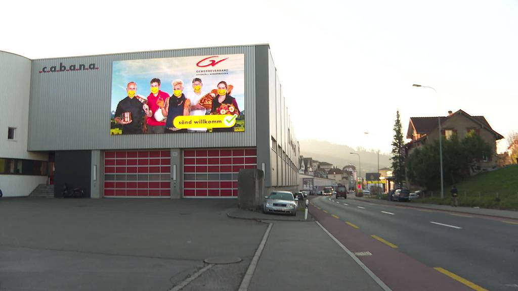 Rettungsaktion: Gewerbeverband AR lanciert Werbekampagne