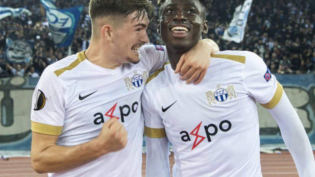 Gewinnt der FCZ in Rasgrad, könnten die Zürcher bei einem Patzer von Leverkusen sogar noch über den Gruppensieg in der Europa League jubeln