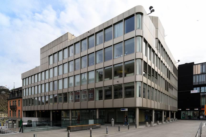 Die NAB-Filiale in Baden bleibt erhalten.