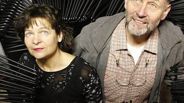 Peter Freiburghaus mit Bühnenpartnerin