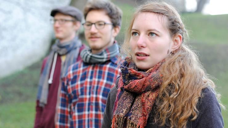 Adina Friis arbeitete in ihrem aktuellen CD-Projekt mit mehreren Musikern zusammen. zvg