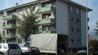 Grosse Zügelte: Ende Monat müssen die 40 Mieter ihre Wohnungen verlassen. Peter Siegrist