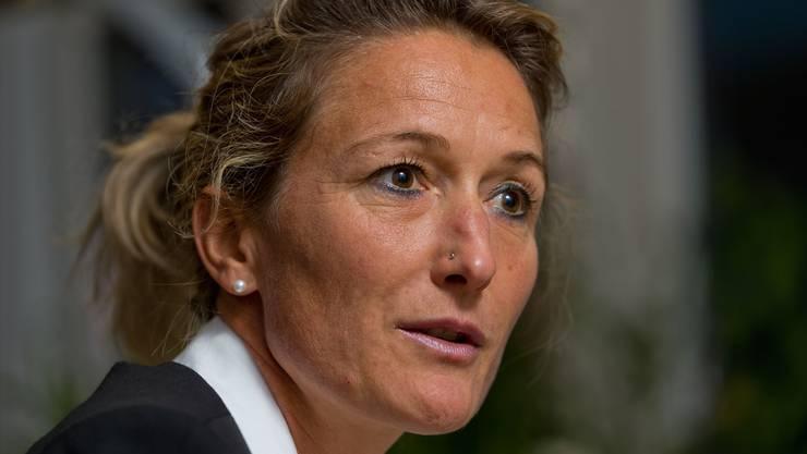 Regierungsrätin Susanne Hochuli. Ihr Departement teilt mit: «Das DGS ist befremdet darüber, dass wiederholt Dokumente von grossrätlichen Kommissionen den Weg in die Medien gefunden haben