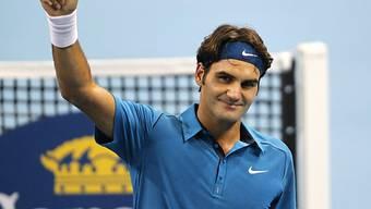 Auf Roger Federer wartet im Halbfinal sein Landsmann Stan Wawrinka