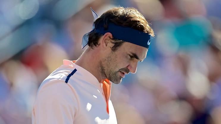 Roger Federer hat immer wieder Rückenprobleme