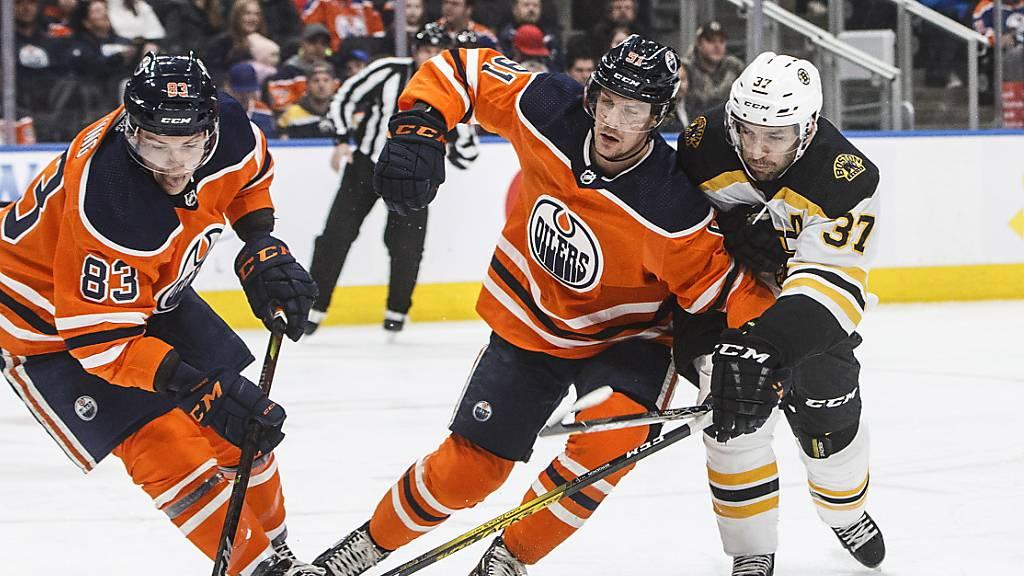 Haas und Edmonton verpassen Sprung an die Spitze