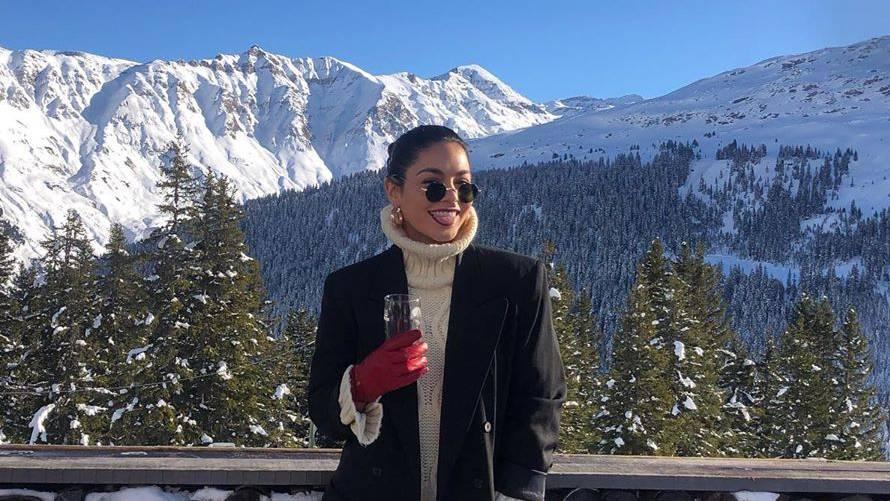 Vanessa Hudgens macht Ferien im FM1-Land