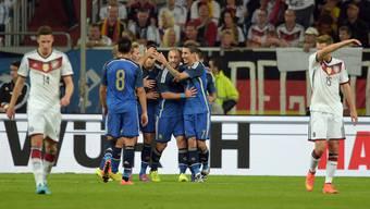 Deutschland verliert das Testspiel gegen Argentinien