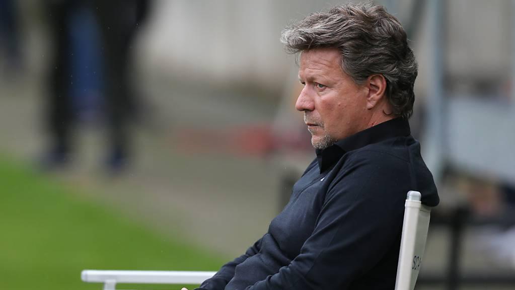 Jeff Saibene muss seinen Stuhl beim 1. FC Kaiserslautern freigeben.