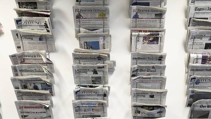 Medien kämpfen mit Abonnentenschwund und den Folgen der Digitalisierung. Nun will ihnen der Bund stärker unter die Arme greifen. (Symbolbild)