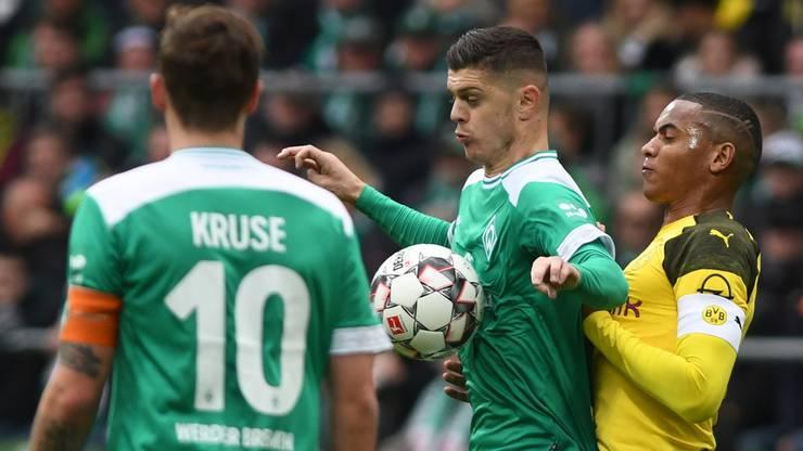 Beim 2:2 gegen Bremen mitschuldig am zweiten Gegentreffer: Manuel Akanji.