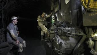 Könnte für einen symbolischen Preis veräussert werden: Defizitäre Kohlemine in der Ukraine (Archiv)