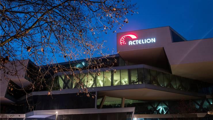 Actelion mit Hauptsitz in Allschwil BL ist das grösste europäische Biotechunternehmen.