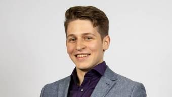 Lukas Lohm ist der jüngst Biberister Parteipräsient.