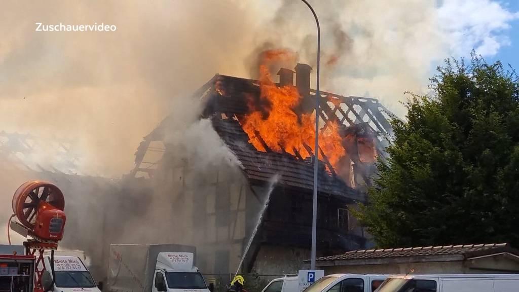 Verdächtig: Hat jemand in Niederbipp ein leerstehendes Haus angezündet?
