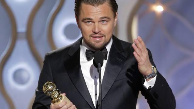 Golden-Globe-Gewinner Leonardo DiCaprio (Archiv)