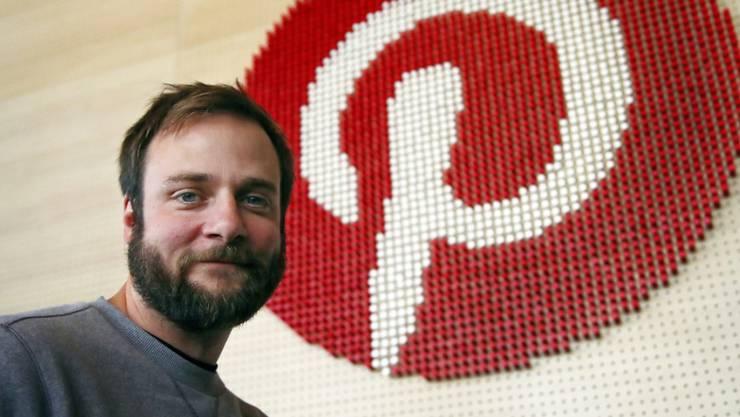 Pinterest-Mitgründer Evan Sharp will die Fotoplattform an die New Yorker Börse bringen. Über den Börsengang will das Unternehmen 1,3 Milliarden US-Dollar einsammeln.(Archivbild)